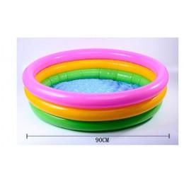 Rainbow Baby nadmuchiwany okrągły basen dla 0-3 lat akcesoria pływakowe pcv dzieci Pscina Para Piscine Gonflable Alberca