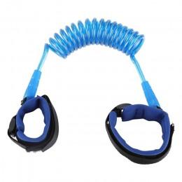 Bransoletka dla dzieci zapobiegająca zgubieniu się 1.5M pasek liny maluch smycz szelki bezpieczeństwa Outdoor Walking smycz na r